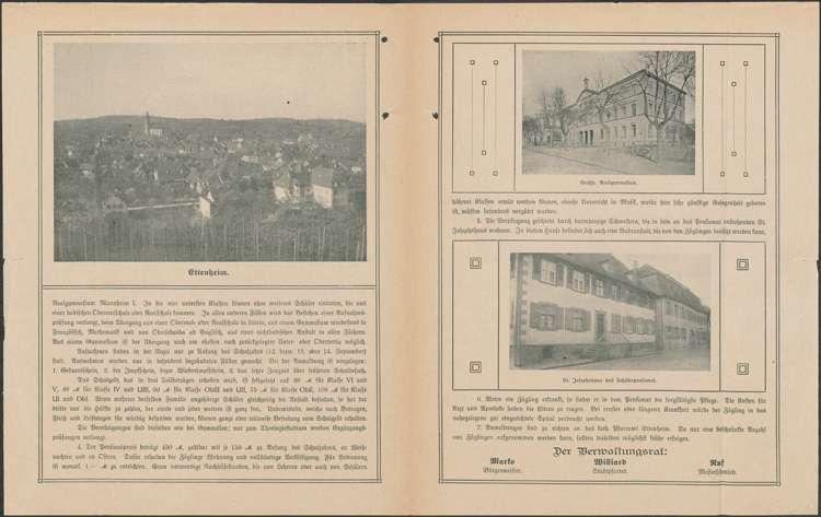 Gründung und Tätigkeit des St. Vinzentiusvereins in Ettenheim sowie Gründung eines Schülerpensionats durch den Verein, Bild 1