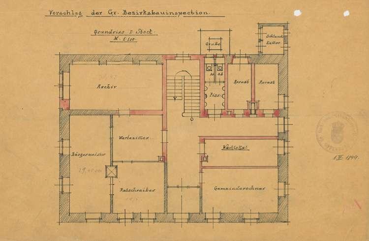 Bau und Unterhaltung des Rathauses in Kippenheim, Bild 2