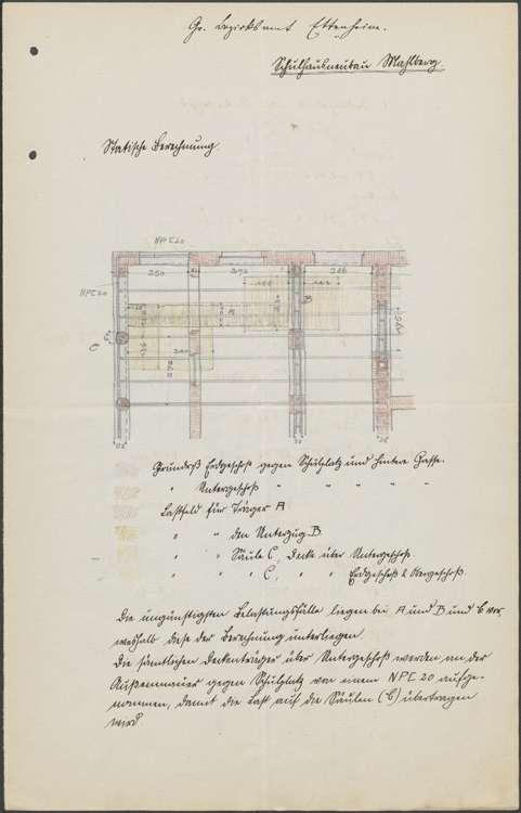 Neubau eines Schulhauses in Mahlberg sowie Vornahme von Verbesserungen, Bild 1