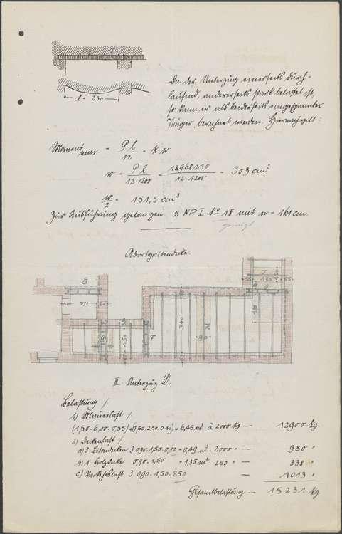 Neubau eines Schulhauses in Mahlberg sowie Vornahme von Verbesserungen, Bild 2