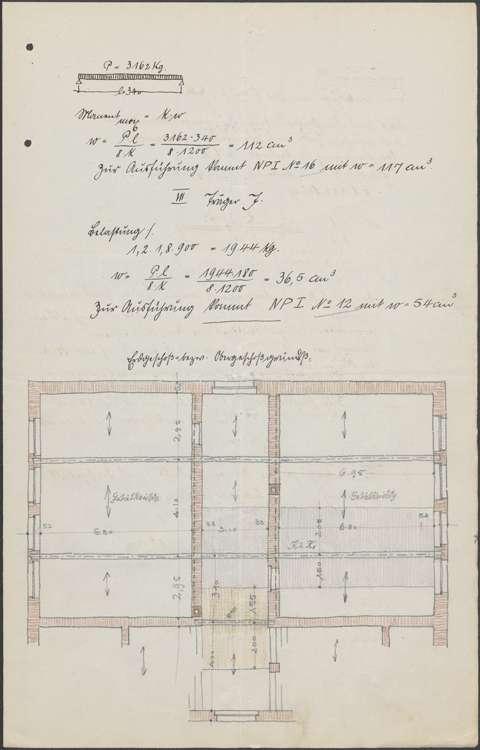 Neubau eines Schulhauses in Mahlberg sowie Vornahme von Verbesserungen, Bild 3