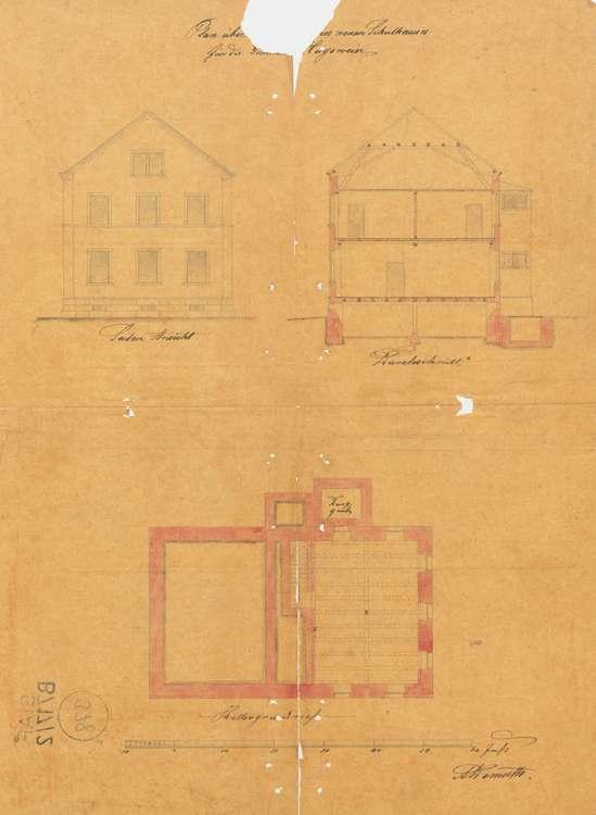 Bau und Unterhaltung des Schulhauses in der Gemeinde Hugsweier sowie Ausstattung der Schulräume, Bild 2