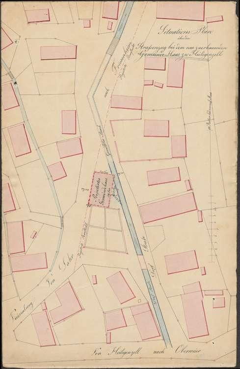 Planung und Bau eines Gemeindehauses in der Gemeinde Heiligenzell, Bild 1
