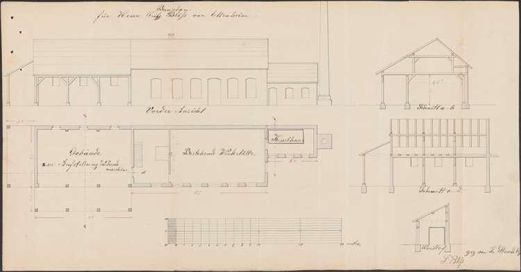 Gesuch des Friedrich Bliss, Ettenheim um Genehmigung zur Errichtung eines Dampfkessels zum Betrieb seiner mechanischen Werkstätte sowie einer Dreschmaschine und einer Sägemühle; Überprüfung des Dampfkessels, Bild 3