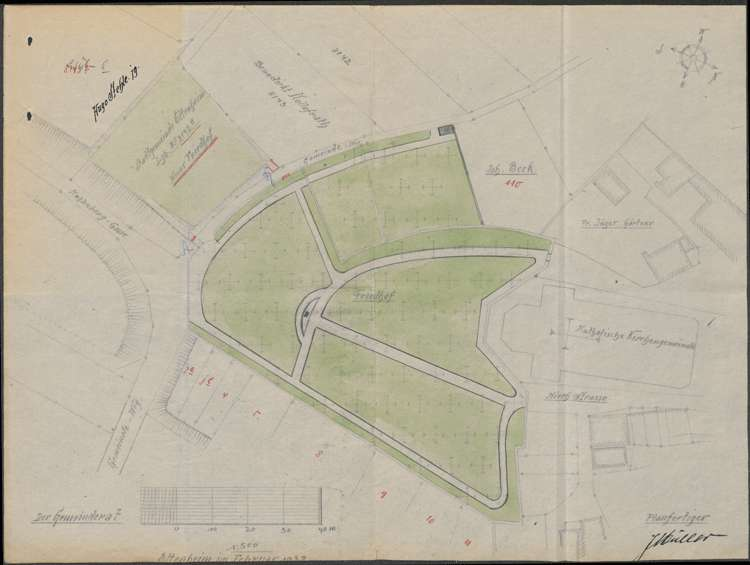 Einrichtung und Betrieb des Friedhofs in Ettenheim sowie Erlassung einer Freidhofsordnung, Bild 3