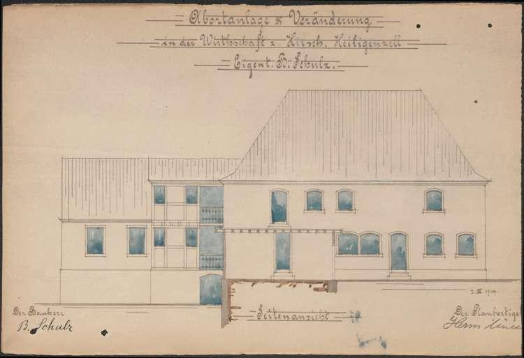 Konzessionierung und Betrieb der Realschankwirtschaft Zum Hirschen in Heiligenzell, Bild 2