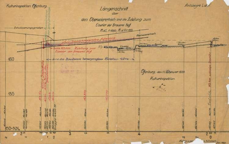 Verbesserung und Erweiterung der Entwässerungsanlagen im Ried auf Gemarkung Oberweier, Bild 1