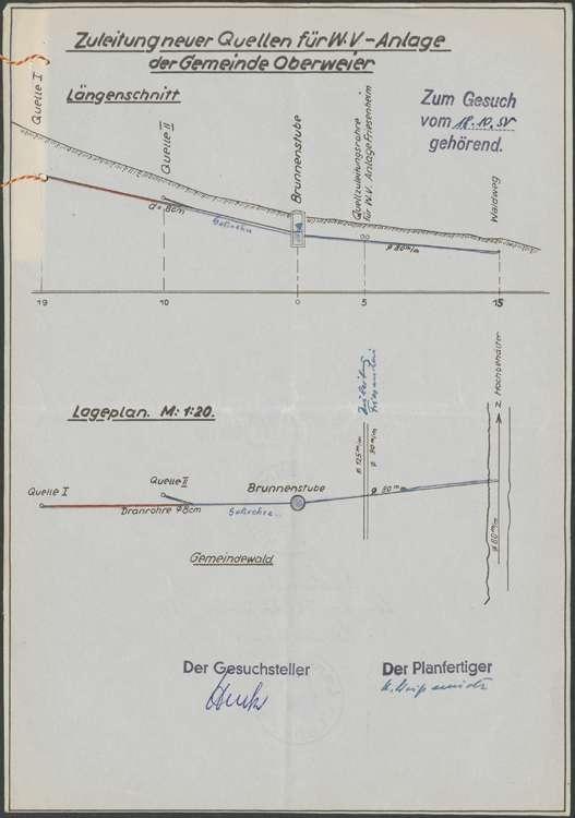 Erweiterung und Instandhaltung der Wasserversorgungsleitungen in der Gemeinde Oberweier, Bild 2