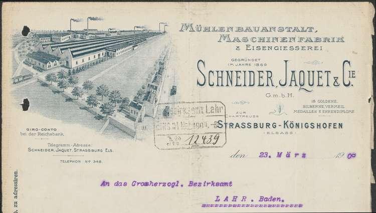 Unterhaltung der Getreidemühle des Josef Hechinger in Schuttern, insbesondere der Umbau der Wasserkraftanlage, Bild 3