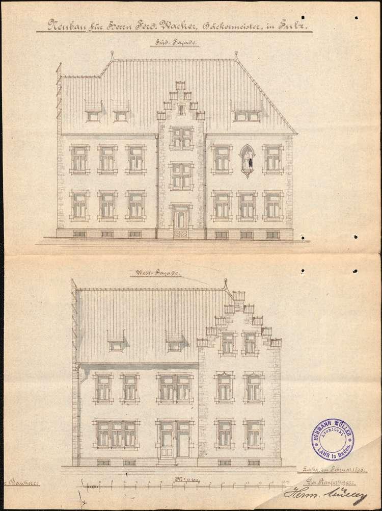 Konzessionierung und Betrieb der Gastwirtschaft Zum Kaiser in Sulz, Bild 2