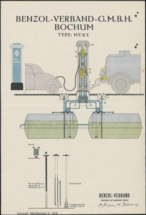 Erstellung einer Selbstverbraucher-Tankanlage auf dem Gelände des Mühlenbetriebs des Robert Rubin in Hugsweier, Bild 3