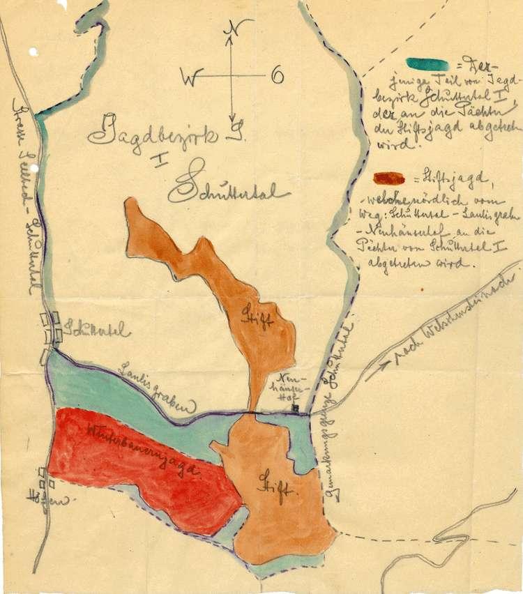 Bildung von Jagdbezirken und Verpachtung der Gemeindejagd in Schuttertal, Bild 2