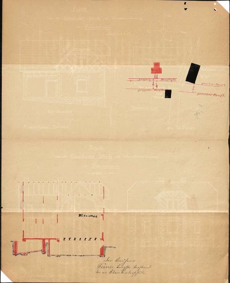 Erbauung und Organisation der evangelischen Kleinkinderschule in der Gemeinde Friesenheim, Bild 2