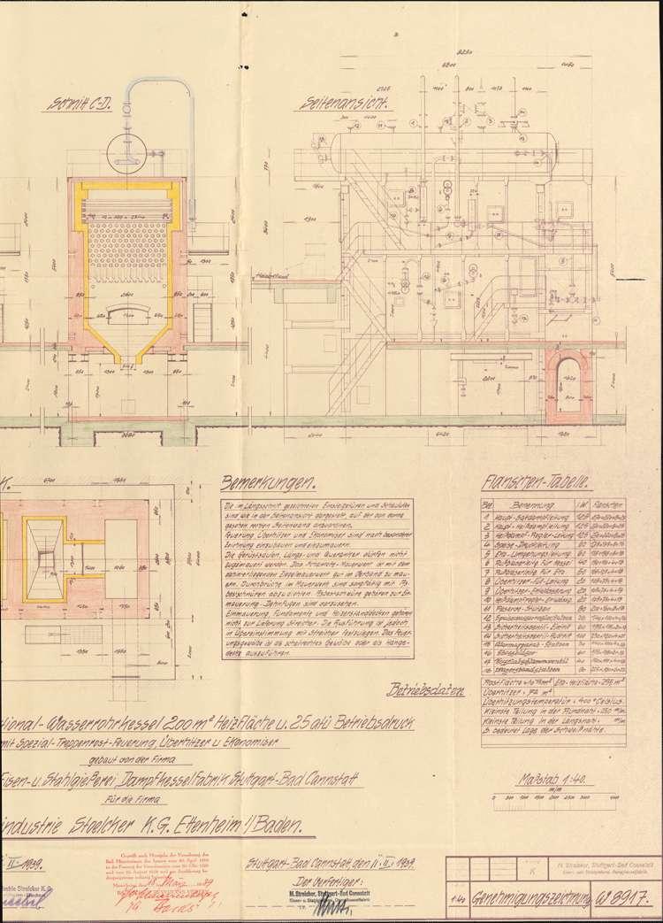 Gesuch der Firma Holzindustrie Stoelker KG in Ettenheim um Genehmigung zur Errichtung eines Dampfkessels, Bild 3