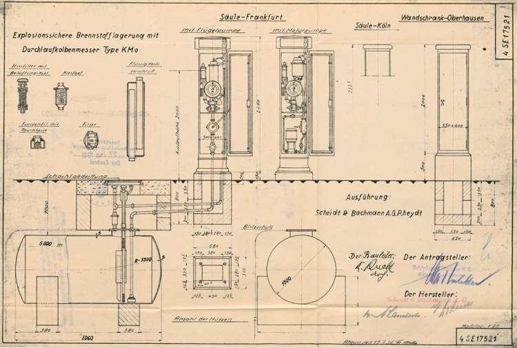 Gesuch der Firma Holzindustrie Stoelker KG in Ettenheim um Genehmigung zur Errichtung einer Tankanlage in der Hindenburgstraße, Bild 2