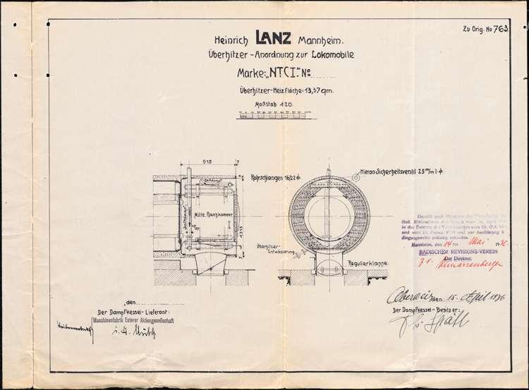 Genehmigung, Betrieb und Überwachung des Dampfkessels der Firma Theodor Späth in Oberweier, Bild 3