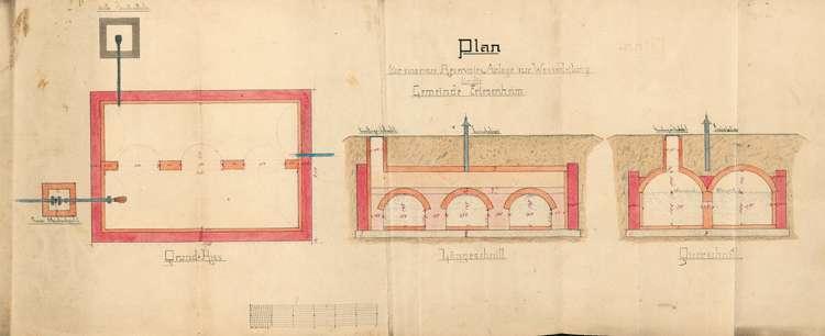 Herstellung einer Wasserleitung für die Gemeinde Friesenheim, Bild 3