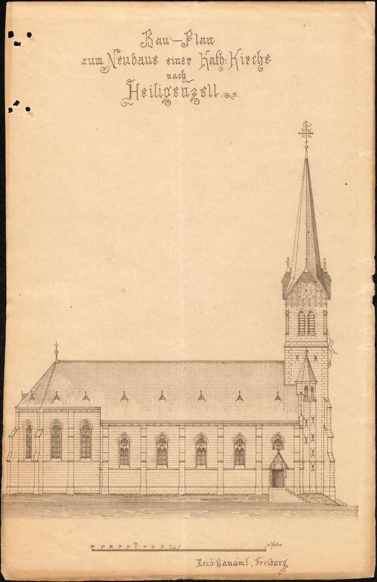 Bau einer Kirche in Heiligenzell, Bild 2