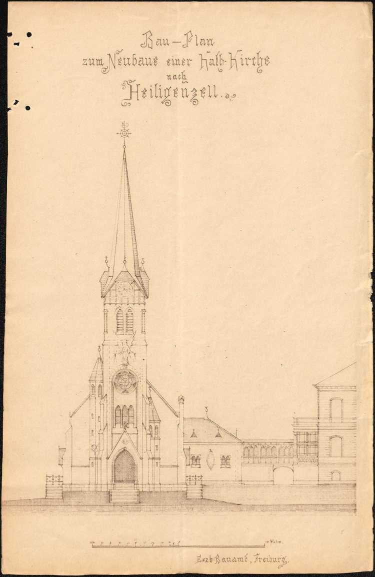 Bau einer Kirche in Heiligenzell, Bild 3