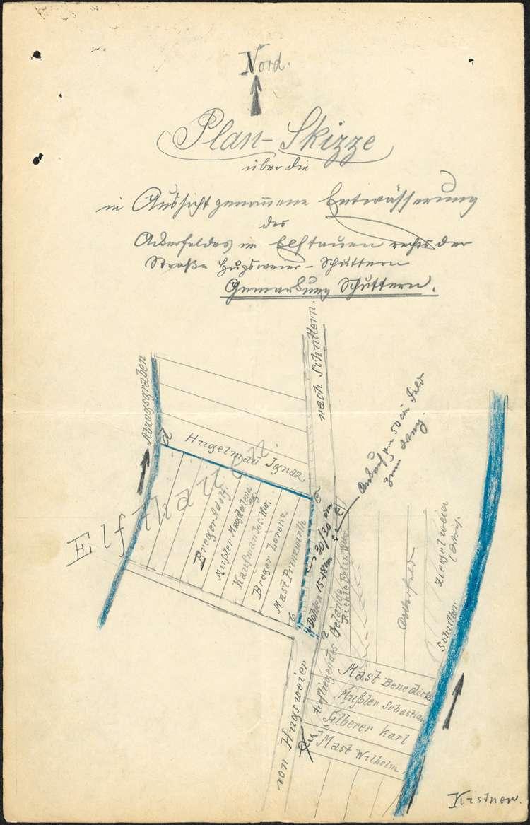 Verbreiterung der Straße von Schuttern nach Hugsweier sowie deren Aufnahme in den Kreisstraßenverband, Bild 3