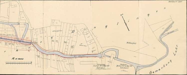 Teilkorrektion der Schutter auf Gemarkung Lahr, Bild 3