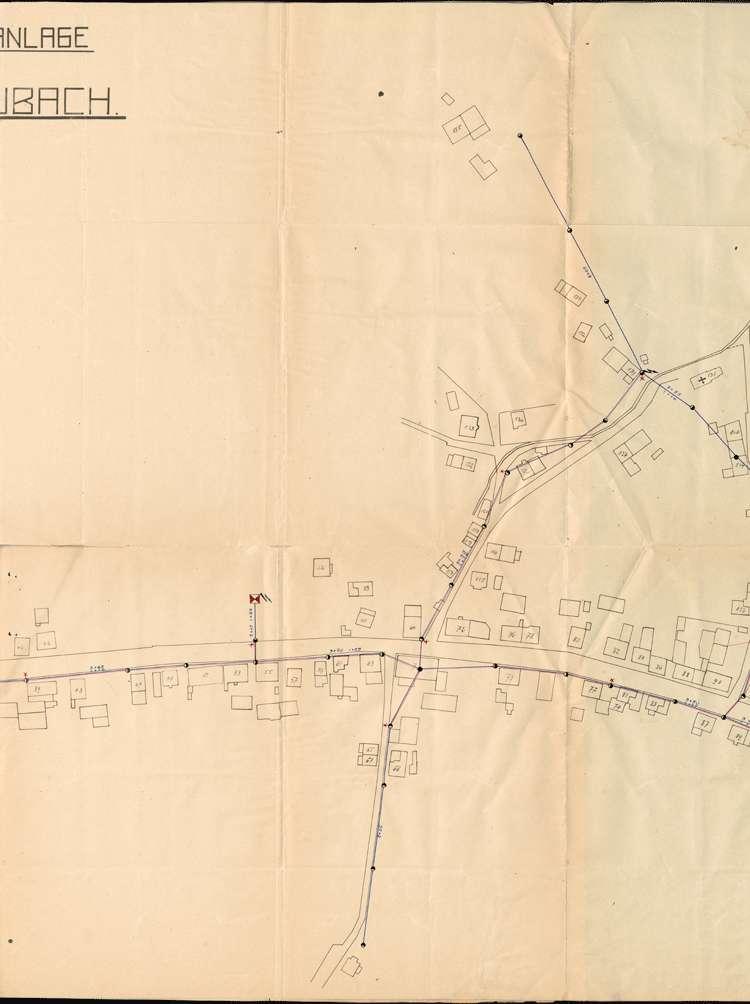 Einführung der elektrischen Energie in der Gemeinde Kuhbach; Verkauf des elektrischen Ortsnetzes, Bild 2