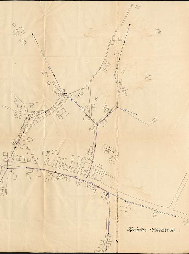 Einführung der elektrischen Energie in der Gemeinde Kuhbach; Verkauf des elektrischen Ortsnetzes, Bild 3