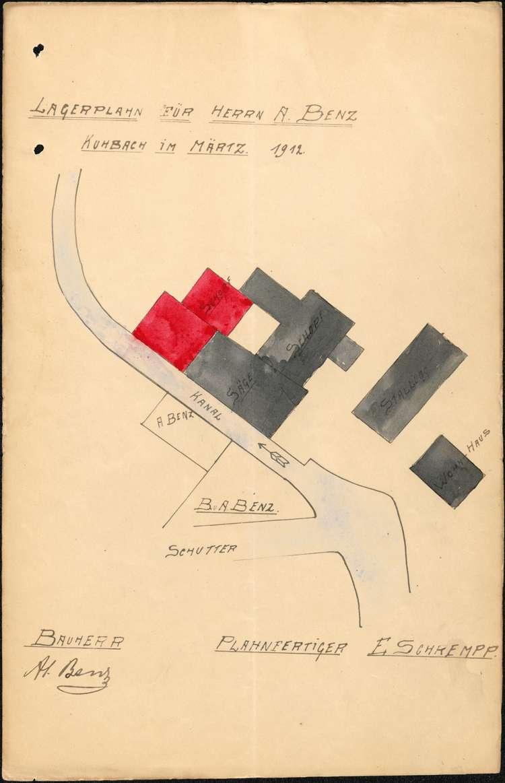 Sägewerk und Ölmühle des Alois Benz in Kuhbach, Bild 1