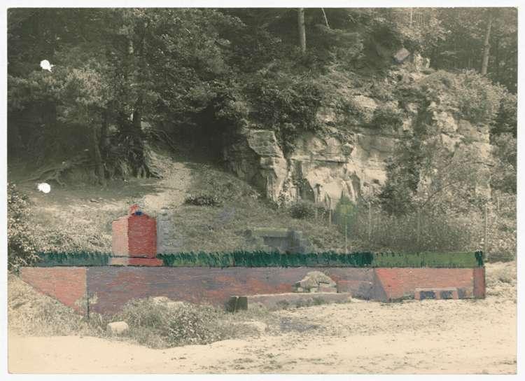 Errichtung eines Kriegerdenkmals in Kuhbach, Bild 2
