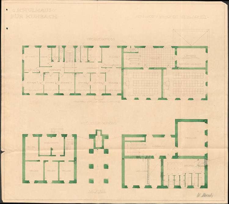 Neu- und Umbau des Schulhauses in Kuhbach, Bild 2