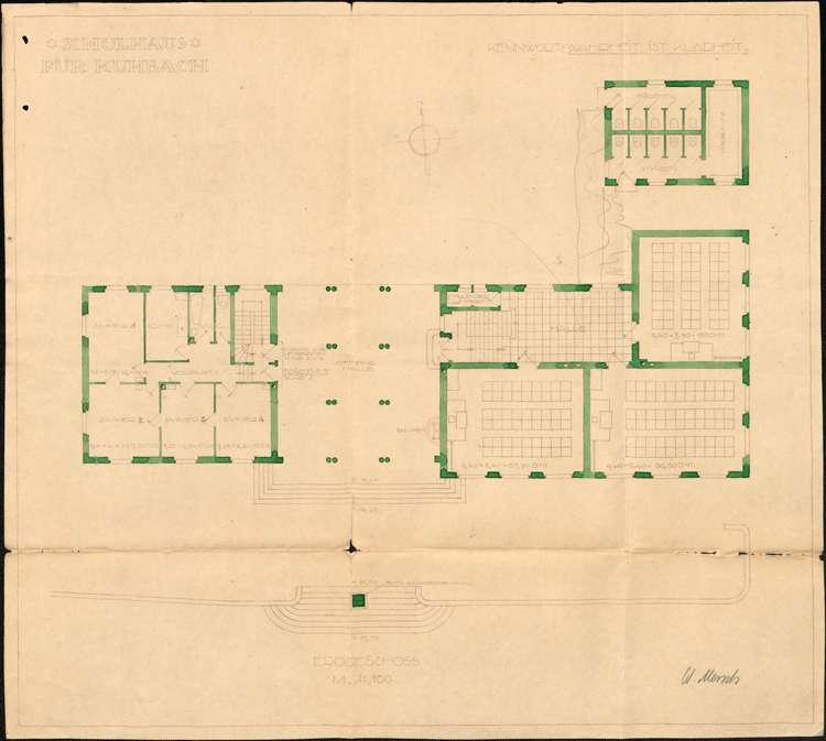 Neu- und Umbau des Schulhauses in Kuhbach, Bild 3