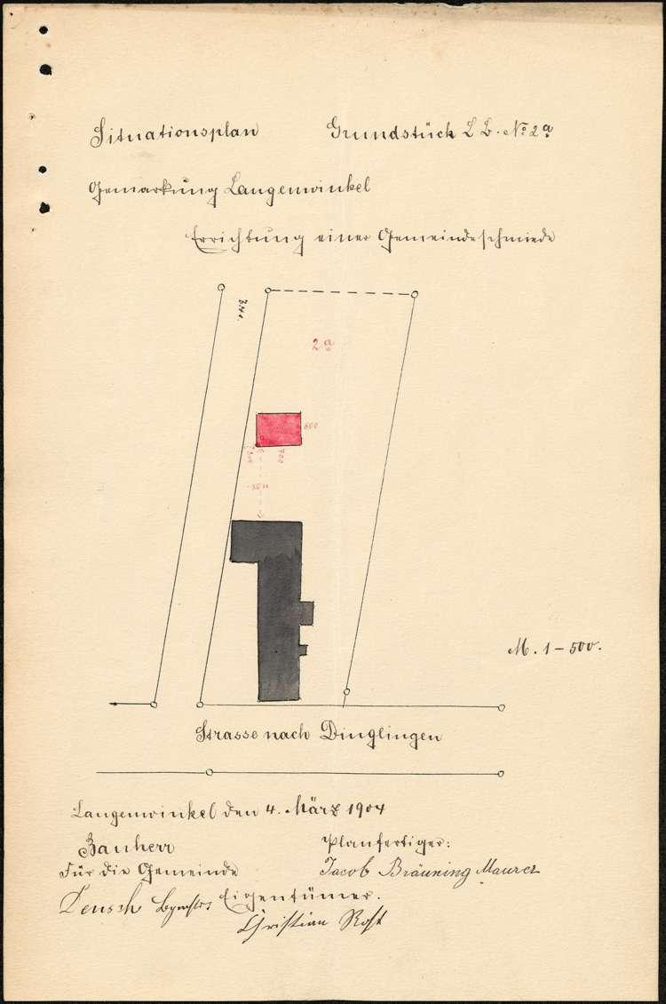 Erstellung einer Gemeindeschmiede durch die Gemeinde Langenwinkel, Bild 2