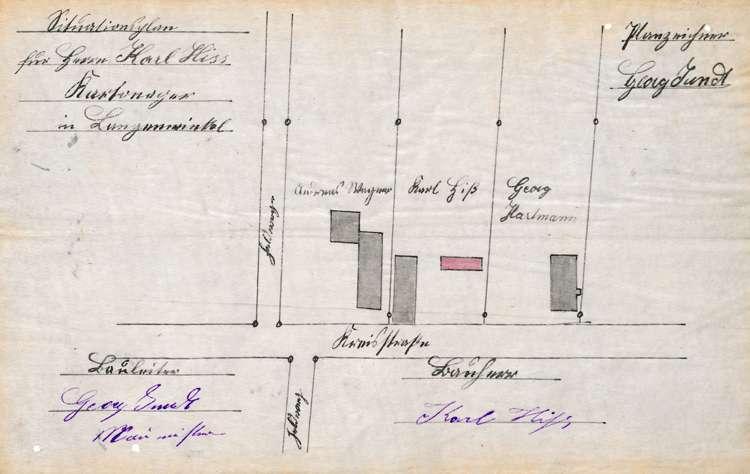Errichtung und Betrieb einer Kartonagenfabrik durch Karl Hiss in Langenwinkel, Bild 1