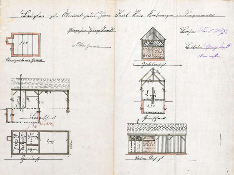 Errichtung und Betrieb einer Kartonagenfabrik durch Karl Hiss in Langenwinkel, Bild 2