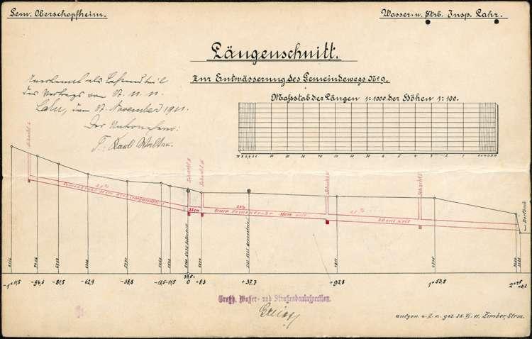 Zustand und Unterhaltung des Weges Nr. 9 zwischen Diersburg und Oberschopfheim auf Gemarkung Oberschopfheim, Bild 2