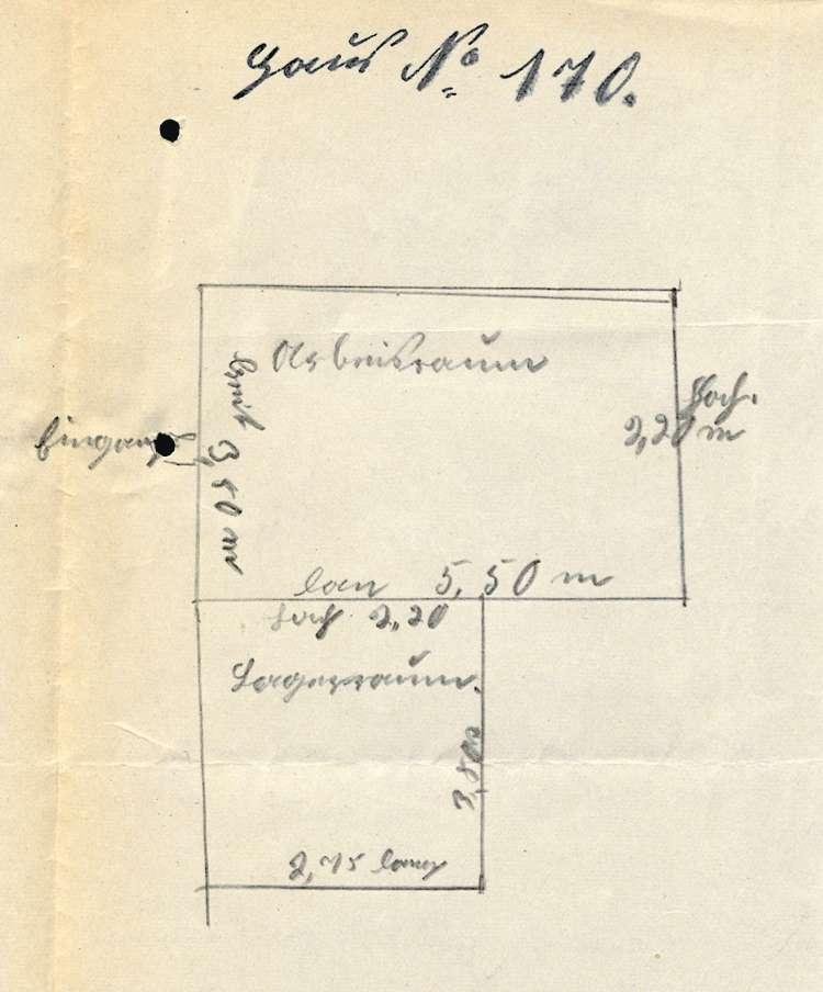 Gesuch des Karl Neff um Genehmigung zur Errichtung einer Zigarettenfabrikation in Hugsweier, Bild 1