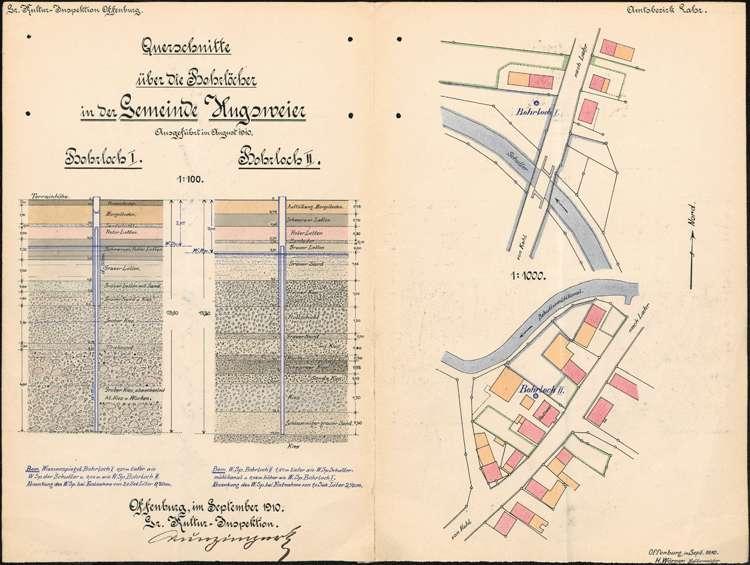 Einrichtung und Unterhaltung der Trinkwasserversorgung der Gemeinde Hugsweier, Bild 1