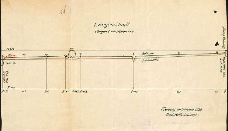 Anlage und Betrieb von Eisweihern auf Gemarkung Kuhbach durch Emil Fleig, Bild 2