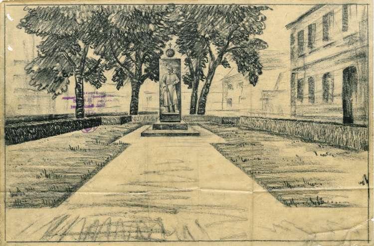 Errichtung eines Kriegerdenkmals in der Gemeinde Ringsheim, Bild 3