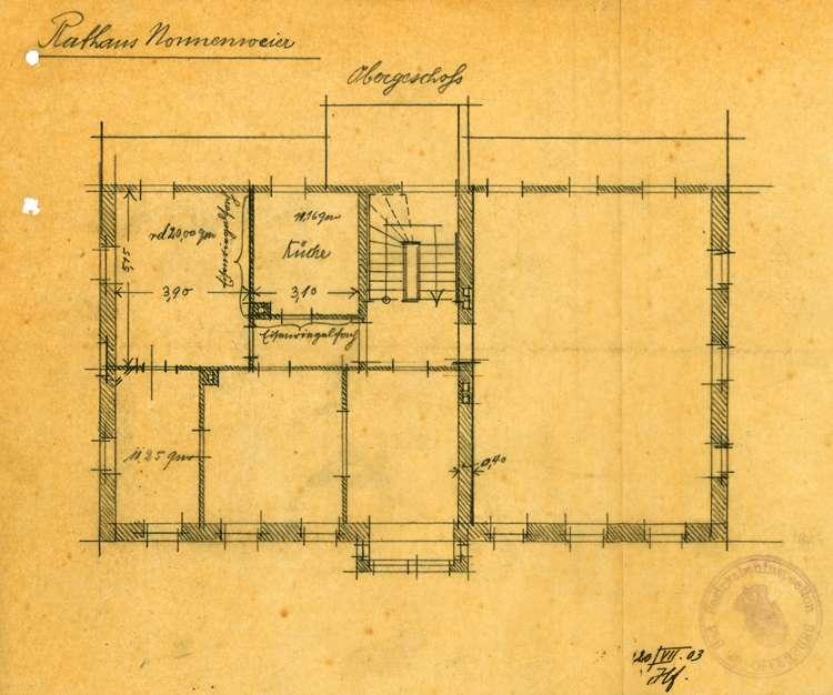Umbau des Gasthauses Zum Anker in Nonnenweier zum Rathaus der Gemeinde, Bild 2