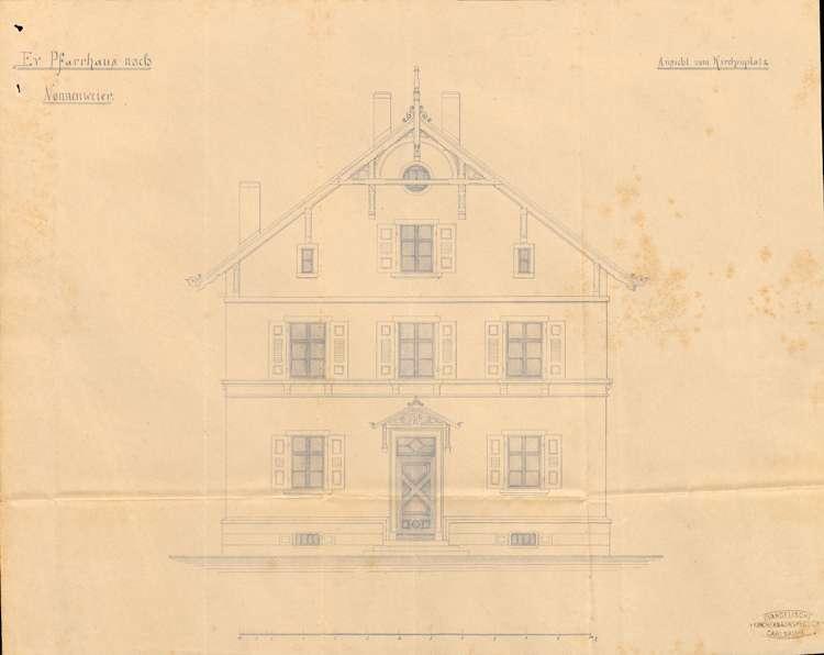Neubau des evangelischen Pfarrhauses in Nonnenweier, Bild 3