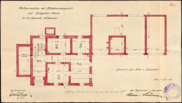 Neubau eines Rathauses in Wittenweier, Bild 2