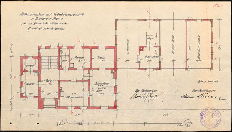 Neubau eines Rathauses in Wittenweier, Bild 3