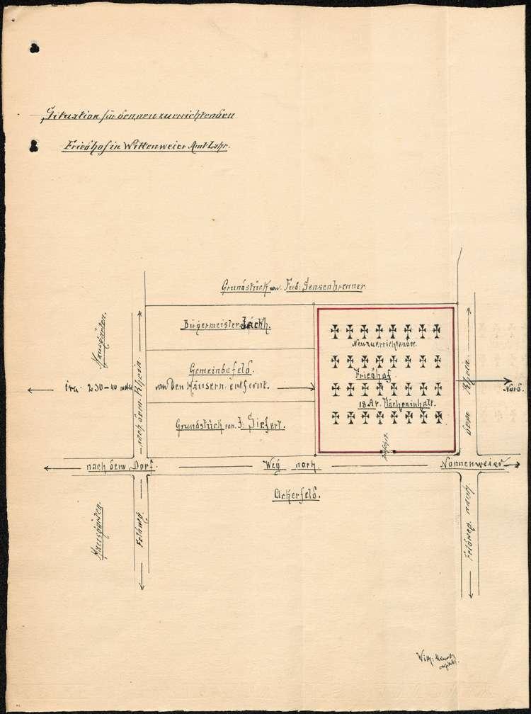 Friedhof in Wittenweier, Bild 1