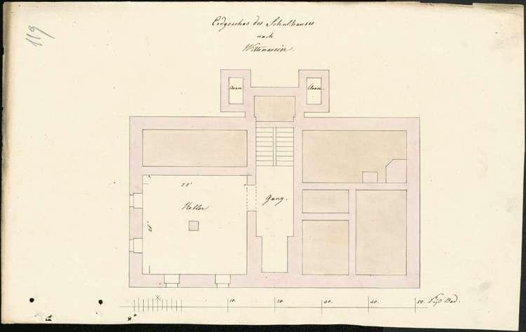 Errichtung und Unterhaltung des Schulhauses in Wittenweier, Bild 1
