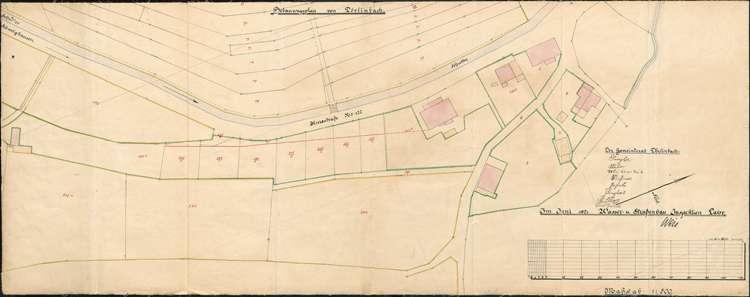 Erweiterung und Vollzug des Ortsbauplans der Gemeinde Dörlinbach, Bild 1