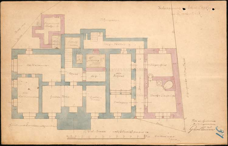 Neubau eines Schulhauses in der Gemeinde Dörlinbach, Bewilligung von Staatsbeihilfen hierzu sowie Erweiterung des Schulhauses, Bild 2
