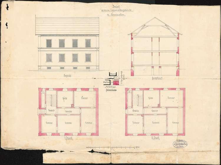 Neubau eines Schulhauses in Nonnenweier, Bild 1