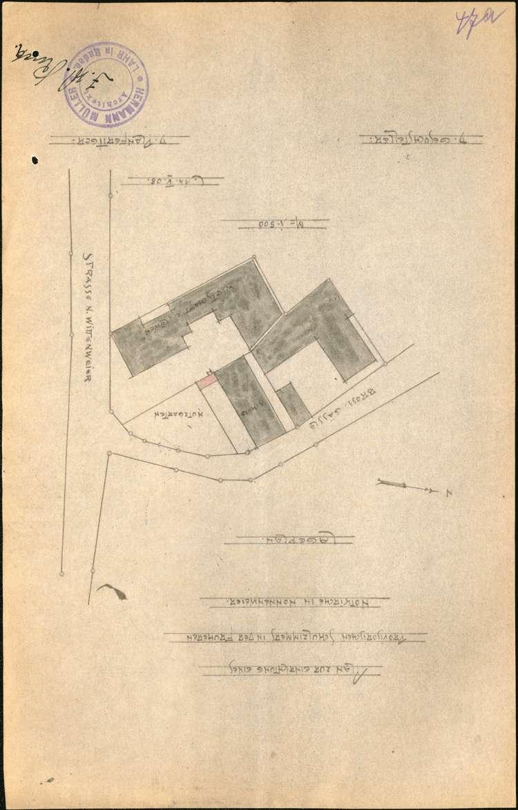 Instandhaltung der Schulhäuser in Nonnenweier sowie Neubau eines Schulhauses, Bild 1