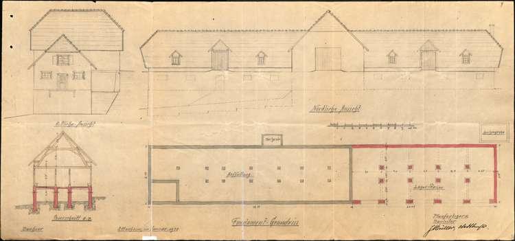 Erweiterung und Betrieb der Jungviehweide Kahlenberg auf Gemarkung Ettenheim, Bild 2